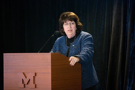 Martha Pollack, Provost of U-M
